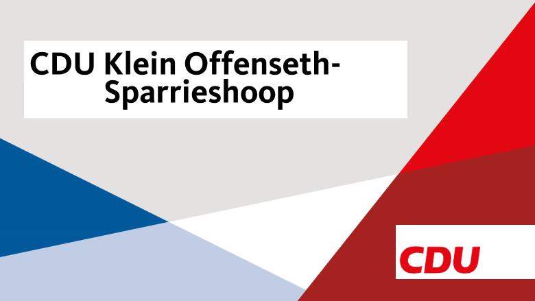 CDU Klein Offenseth-Sparrieshoop